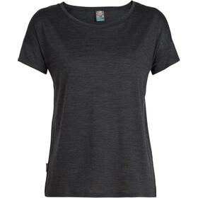 Icebreaker Via t-shirt Dames grijs